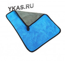 Микрофибра  Carlife Premium экстра плотная 400гр.м  40x30см  Синяя