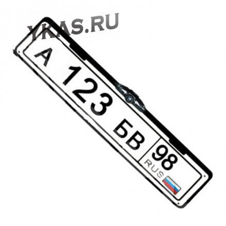 Рамка под номер с камерой заднего вида  Interpower IP-616
