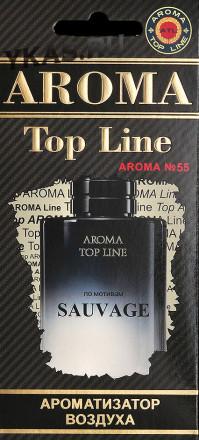 Осв.возд.  AROMA  Topline  Мужская линия  №55   Dior SAUVAGE