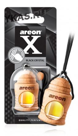 "Осв.возд. Areon FRESCO  X-VERSION ""бутылочка в дереве"" Black Crystal"
