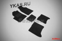 Коврики текстильн. CHERY Bonus c 2013г-  /компл.5шт./осн.резин./  LUX