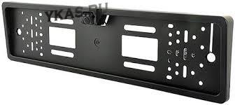 Рамка под номер с камерой заднего вида  Interpower IP-616 HD