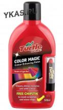 TW  Полироль кузова цветная с карандашом  светло-красная  500мл.