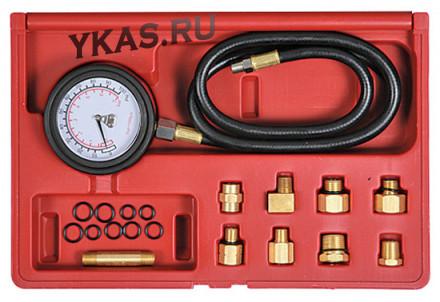 Манометр для измерения давления масла, 0-7 бар, комплект адаптеров _37820