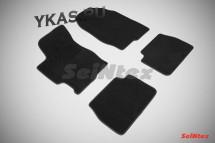 Коврики текстильн. Mazda 6 I 2002-2008г. /компл.4шт./осн.резин./ LUX