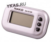 Авточасы  NAKO  NA-815A  часы+секундомер+будильник