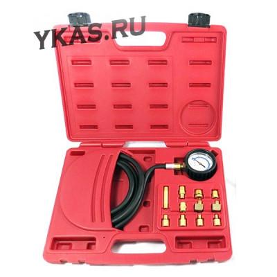 Манометр для измерения давления масла, 0-21 бар, комплект адаптеров_39362