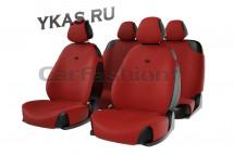 Комплект Накидок  «FORUM»  Красный/Черный
