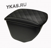 Подлокотник мод. Skoda Octavia III  A7 с 2014г- чёрный/чёрный/чёрный РОМБ