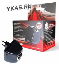 Преобразователь - адаптер 220V - 12V (Выходной ток: 1000 mAh) AD-22012A