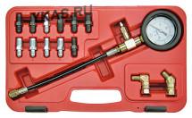 МАСТАК Манометр для измерения давления в тормозных системах, 14 предметов_49997