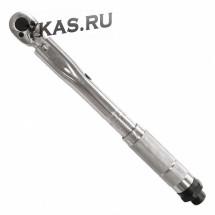 """Ключ динамометрический 1/4"""", 2-24 Нм, в пластиковом кейсе _38912"""