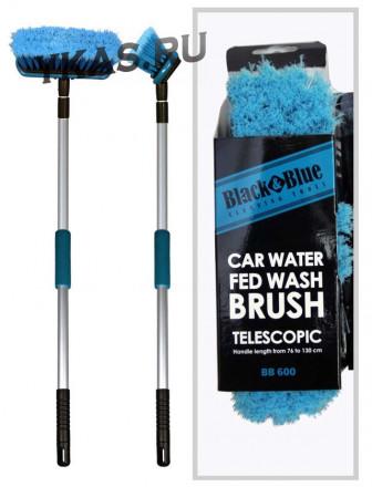 """Щетка для мытья машины """"Black&Blue"""" телеск. ручка 85-140см  (BB600)"""