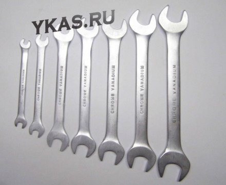 GRAND TOOL Ключ рожковый 18-19 мм CrV (сатин)