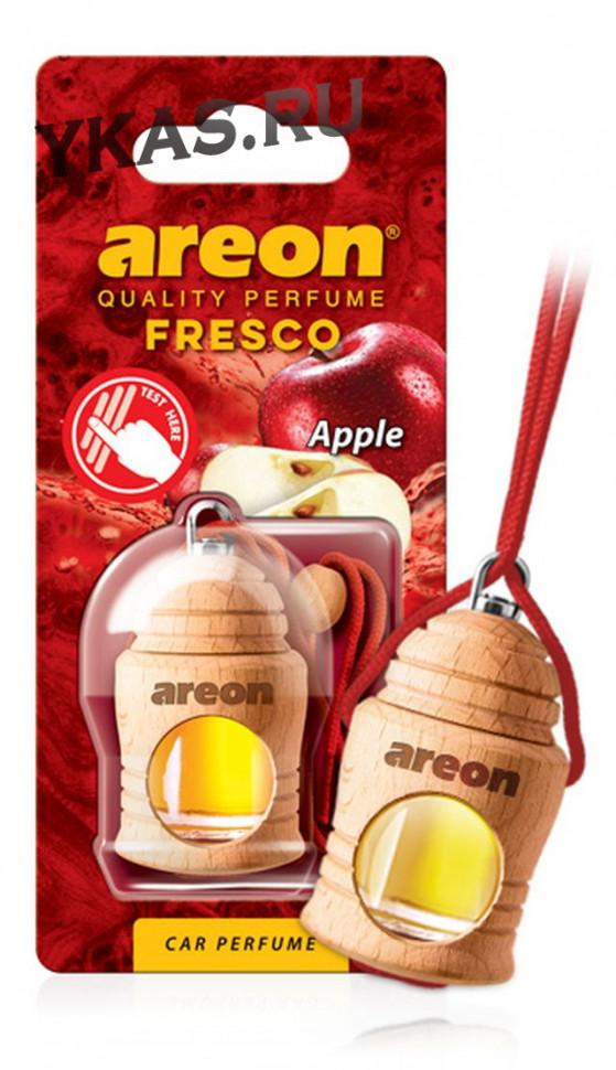 "Осв.возд. Areon FRESCO ""бутылочка в дереве"" Apple"
