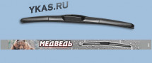 "Дворники  Медведь  «Гибрид»,  HU-16""  400мм"
