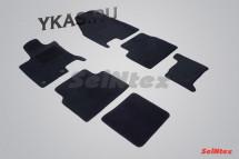 Коврики текстильн. Nissan Qasqqai +2  2008-2014г.  /компл.6шт./осн.резин./ LUX