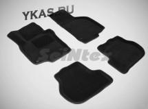Коврики  VW Golf V/VI 2003-2012г.  /Jetta / Octavia A5  /компл.5шт./осн.резин./ 3D