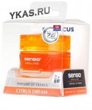 Осв.воздуха DrMarcus на панель гель  Senso Delux  Citrus Dream